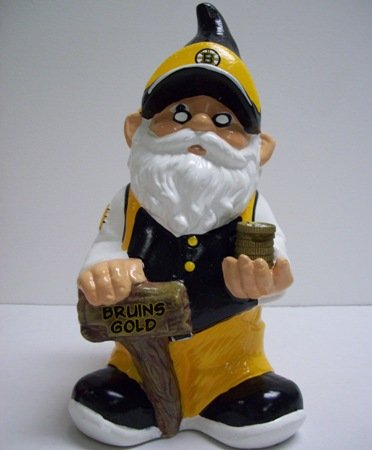 Bruins Piggy Bank (Boston Bruins Gnome Piggy Bank)