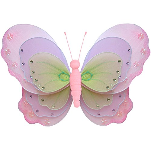 Hanging Nursery Ceiling Room Decor (Hanging Butterfly X-Large 18