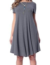 Amazon.com: Boat Neck - Dresses / Clothing: Clothing