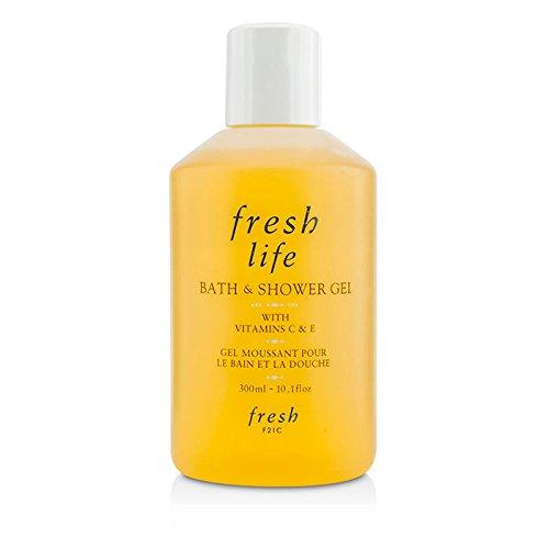 Fresh Shower Gel - Fresh Life Bath And Shower Gel, 300Ml, 10.1 Ounce