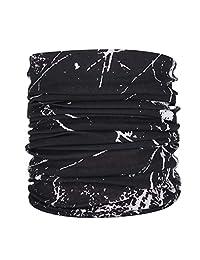 Gosear Moda Multifuncional Protector Solar Headwear Headwrap máscara Bufanda Cuello Calentador para Hombres Mujeres Camping Escalada Senderismo Ciclismo Estilo al Aire Libre E