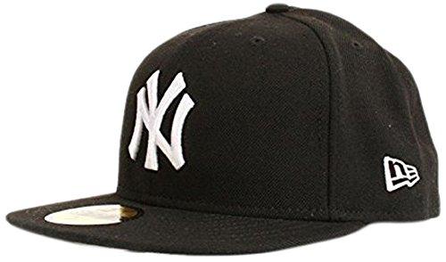 59fifty Yankees Mlb Baseball Chapeau bla Homme Whi blanc Era Multicolore Ny Noir Basic Noir Blanc New De Fitted xXUIP5