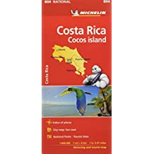 Costa Rica National Map 804 2018