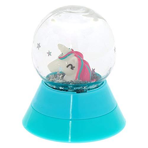 Claire's Girl's Unicorn Snowglobe Lip Gloss Pot