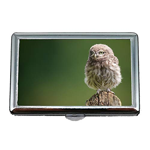cigarette case holder,owl for sale tree stump owl bird,Business Card Holder Business Card Case Stainless -