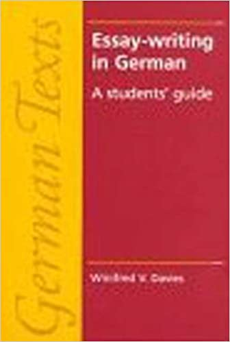 essay writing in german a student s guide german texts series  essay writing in german a student s guide german texts series