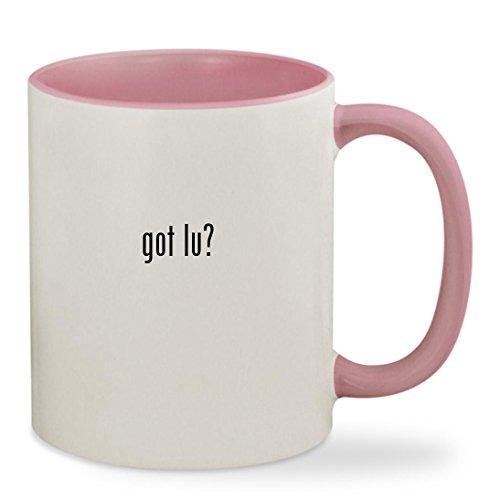 got lu? - 11oz Colored Inside & Handle Sturdy Ceramic Coffee