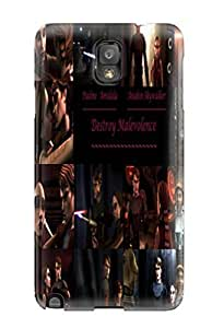 Galaxy Note 3 Hard Back With Bumper Silicone Gel Tpu Case Cover Star Wars Clone Wars