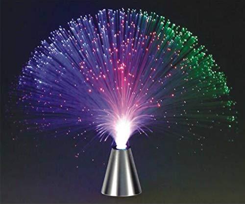 9Snail Multicolor Fiber Optic Centerpiece -