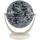 Stella Nova Moon Swivel and Tilt Globe, 4-Inch