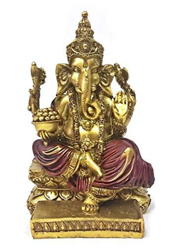 Bellaa 20988 Ganesh Statues Hindu Good Luck God 5.5