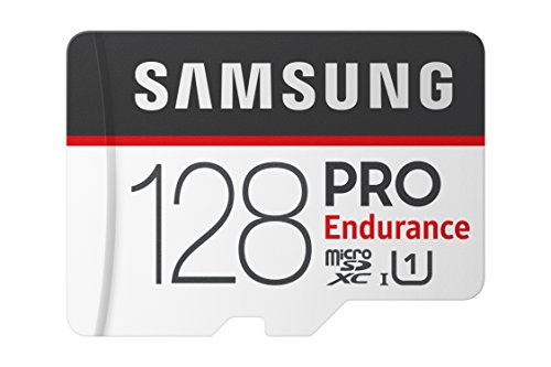 Samsung PRO Endurance 128GB Micro SDXC Card with Adapter – 100MB/s U1 (MB-MJ128GA/AM)
