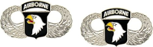 MilitaryBest 101st Airborne Wings Lapel Pin 2 Pack