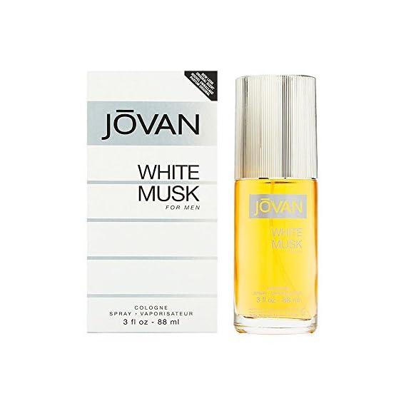 Jovan White Musk Eau de Cologne for Men, 88ml