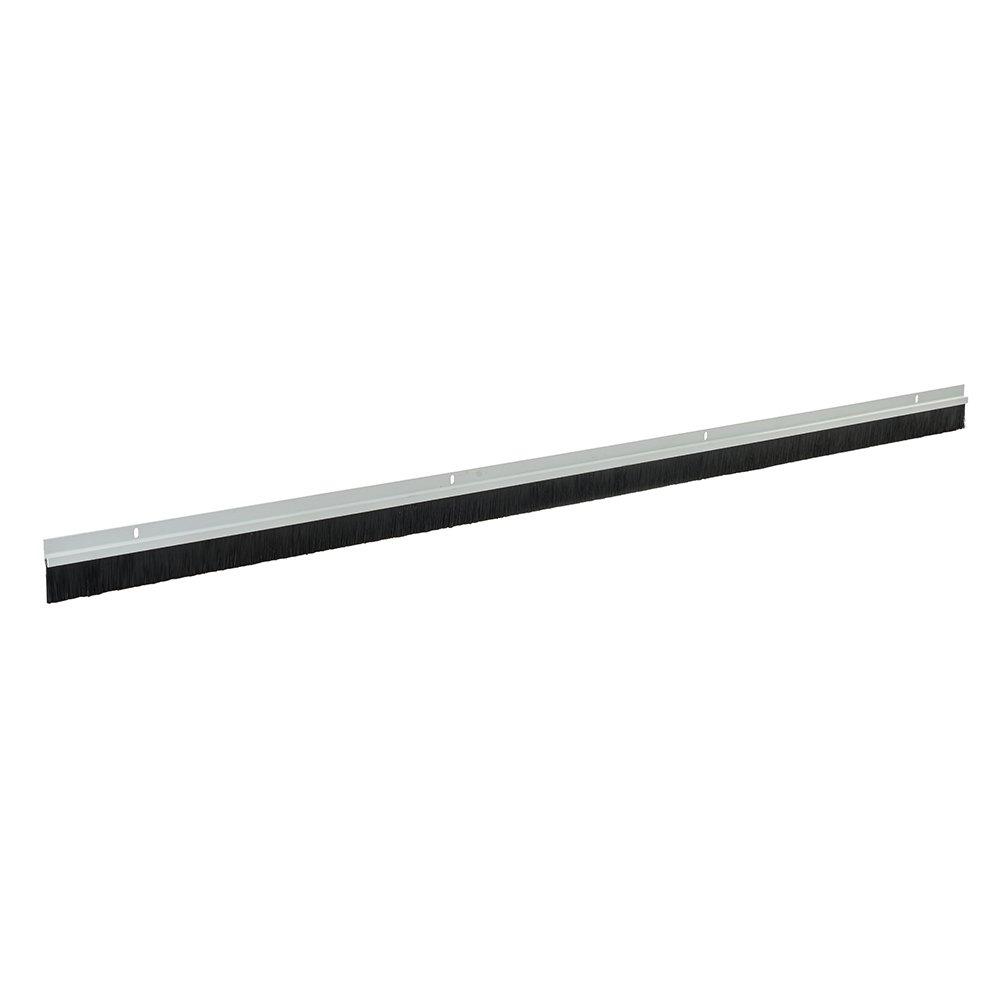 color blanco PVC, 1 m Wolfpack 5190150 Burlete con cepillo