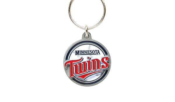 Minnesota Twins Baseball Keyring