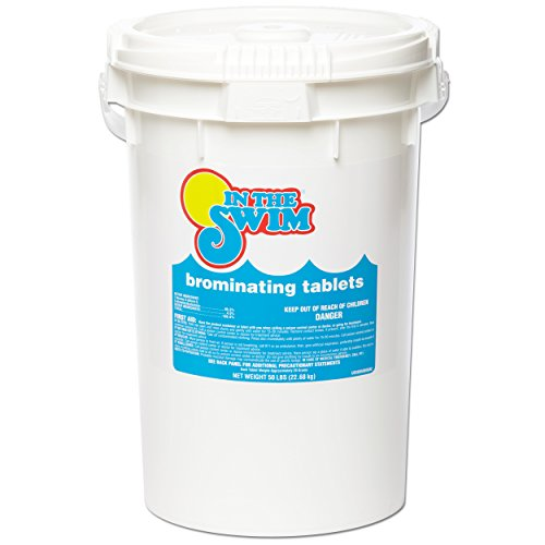 - In The Swim C6050 Swimming Pool Bromine Tablets 50 lbs.