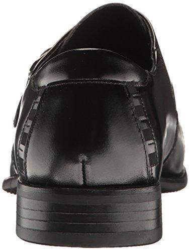 Stacy Adams Heren Macmillian-cap Teen Monk Strap Slip-on Loafer Zwart