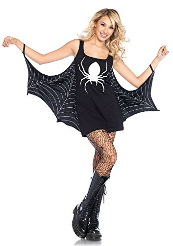 Halloween Jersey Dress Adult Costume Spider - (Spider Dress Costume)