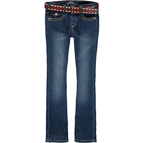 Belted Bootcut Jeans - 6