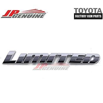ABS LIMITED Decal Badge Emblem Sticker Fit For Toyota Highlander Chrome