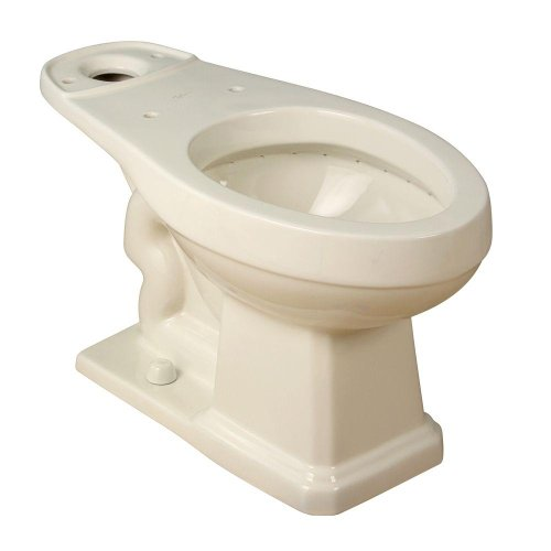 Series 1930 Vitreous China Elongated Toilet Bowl Only Finish: Biscuit