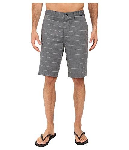 [Hurley Men's Dri-Fit Porter Walkshorts Black Shorts] (Hurley Black Belt)