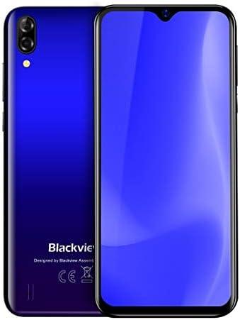 QUZH Cell Phones スマートフォンA60、1ギガバイト+ 16ギガバイト、デュアルリアカメラ、4080mAhバッテリー、6.1インチのAndroid 8.1 GO MTK6580Aクアッドコア1.3GHzのまでに、ネットワーク:3G、デュアルSIM(ブラック) (Color : Black)