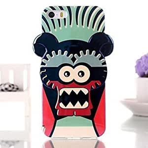 PEACH Cute Cartoon Robot TPU Soft Case for iPhone 5/5S