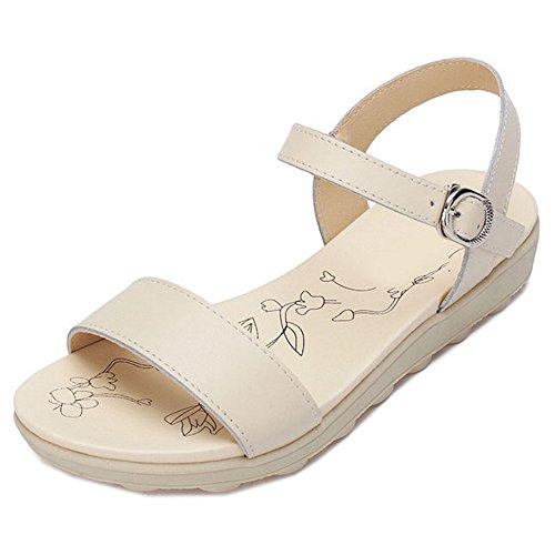 Zapatos beige de punta abierta formales Peperosa para mujer Venta de pago de Visa en línea Colecciones baratas El mayor proveedor en línea Barato Venta Great Deals APVGl