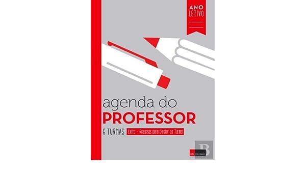 Agenda do Professor 6 Turmas (Portuguese Edition): Vários ...