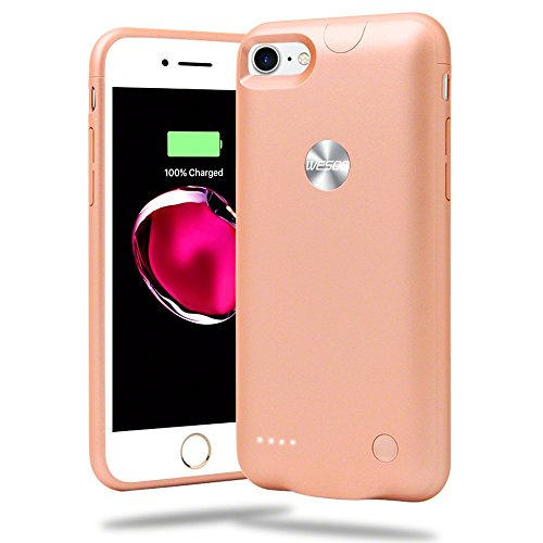 2800mah Power Case for iPhone 7 (Rose Gold) - 2