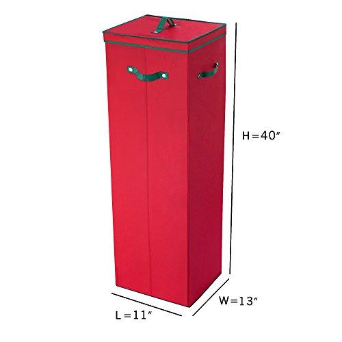 40 in tall wrapping paper storage box in red arts. Black Bedroom Furniture Sets. Home Design Ideas