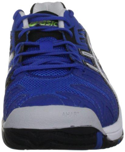 Asics Gel Resolution, Scarpe Sportive-Tennis Uomo Blu (Royal Blue/Lightning/Black)