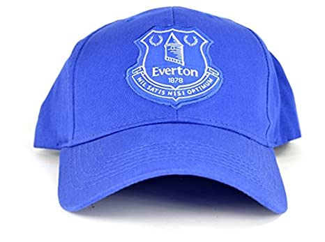 e998e6aff5378 Everton Hat Cap Football Gift Fan Blues Toffees Toy Official  Amazon ...
