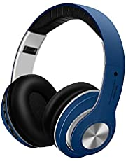 Bluetooth Headphones,G5 Wireless Over ear Foldable Headphone with Snug Earmuffs,Portable Hi-Fi Stereo Headset,Built-In Noise Reduction Microphone Hands-Free Calling for Smartphones/TV/PC