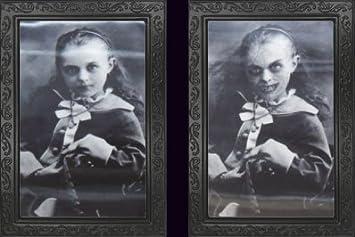 Halloween Horror Portrait Verwandlungsbild 48 cm x 36 cm Galerie des Grauens 08