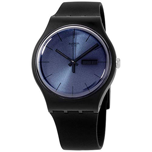 Swatch Black Rebel Mens Watch SUOB702