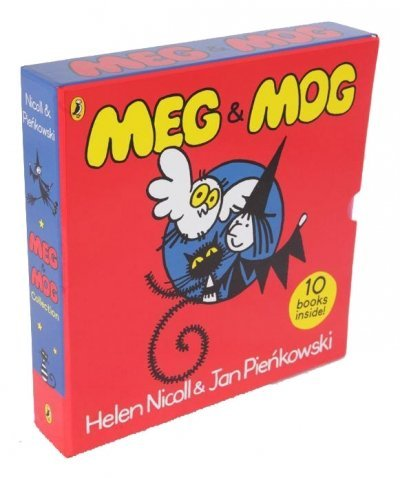 Price comparison product image Meg and Mog 10 book collection in Zip-lock bag RRP £59.90