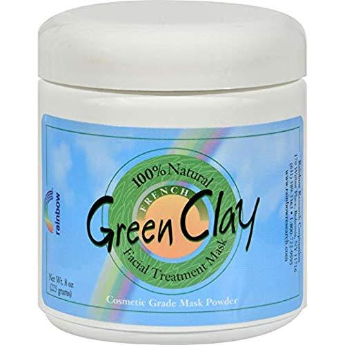 Green Clay Mask Powder 8 Ounces (Powder Clay French Green)