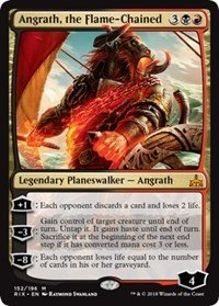 Angrath, the Flame-Chained - Rivals of Ixalan