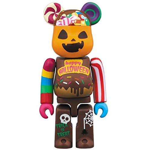 Medicom Toy Bearbrick Be@rbrick HALLOWEEN 100% 7cm candy sweets figure 2017 ()