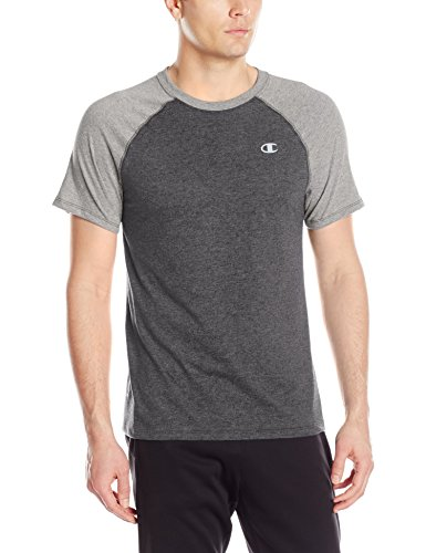 Champion Herren T-Shirt Gr. xxl,  - Champ Ebony Heather/Oxford Grey