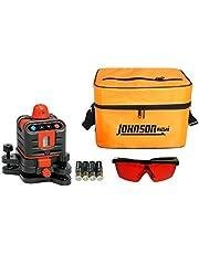 Johnson Level & Tool 40-6502 Manual-Leveling Rotary Laser Level