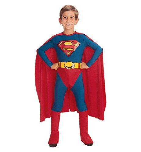 Classic Superman Child Costume - Small -