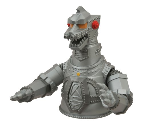 Diamond Select Toys Godzilla Mechagodzilla Vinyl Bust Bank Figure