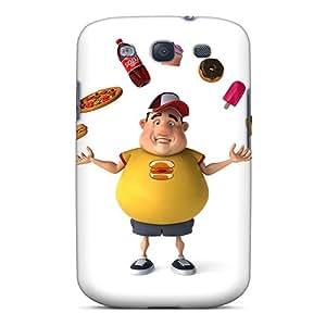 Galaxy S3 Case Cover Skin : Premium High Quality Diet Case