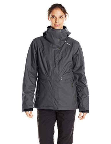 Columbia Women's Winter Thrills Jacket, Black, X-Large (Thrill Athletic Fit Pant)