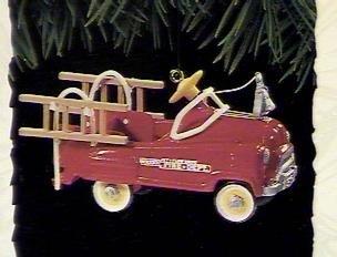 Hallmark QX5027 Kiddie Car Classics #2 Murray Fire Truck 1995 Keepsake Ornament