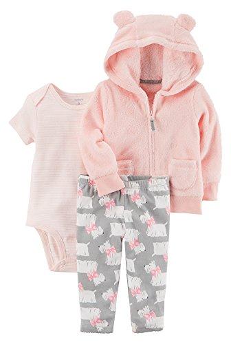 Carters Baby Girls 3 24 Months 3 Piece Little Jacket Set 6 Months